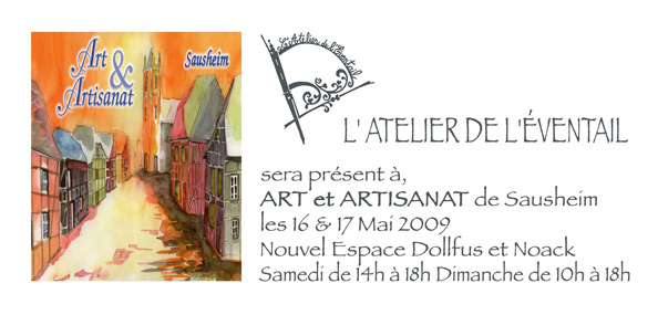 exposition sausheim art et artisanat
