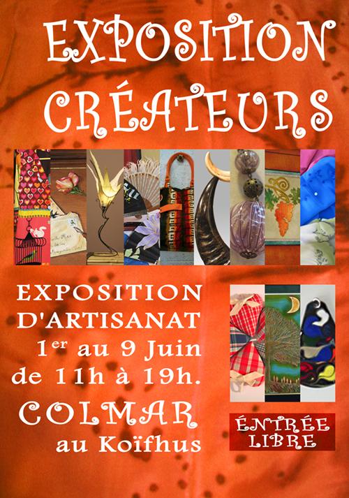 Expo au KoÏfhus à Colmar Juin 2010