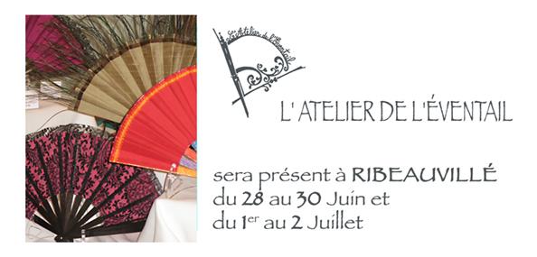 Expo Ribeauvillé Juin et Juillet 2010 du 28 au 30 et du 1er au 2 juillet.
