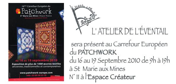 Expo, Pacthwork, Sainte Marie Aux Mines, Septembre 2010.