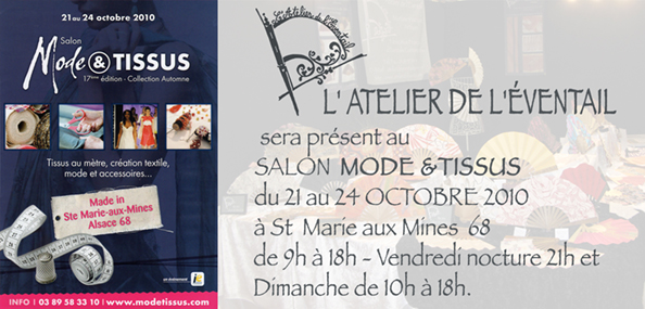 Expo, Mode & Tissus, Sainte Marie Aux Mines, Octobre 2010.