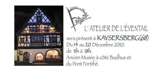 Expo, au Badhus, kaysersberg(68), Décembre 2010.