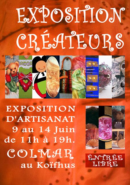 EXPOSITION, ARTISANALE, AU KOÏFHUS, DE COLMAR (68).