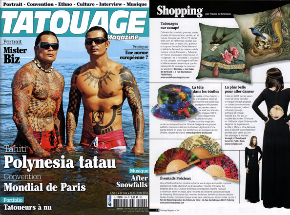 ARTICLE  TATOUAGE 2015 SITE
