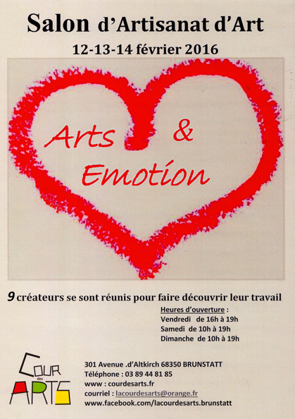 ARTS & EMOTION 2016